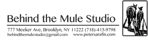 Behind the Mule Studio, Pete Sarafin, 777 Meeker Ave, Brooklyn, NY
